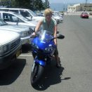 me on my bro's bike lol