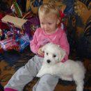 Moja kćer sa psićem