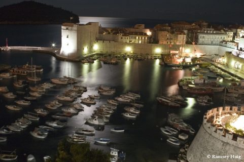 Night in Dubrovnik