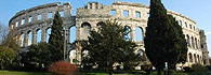 Visit the sixth largest surviving Roman arena in Pula